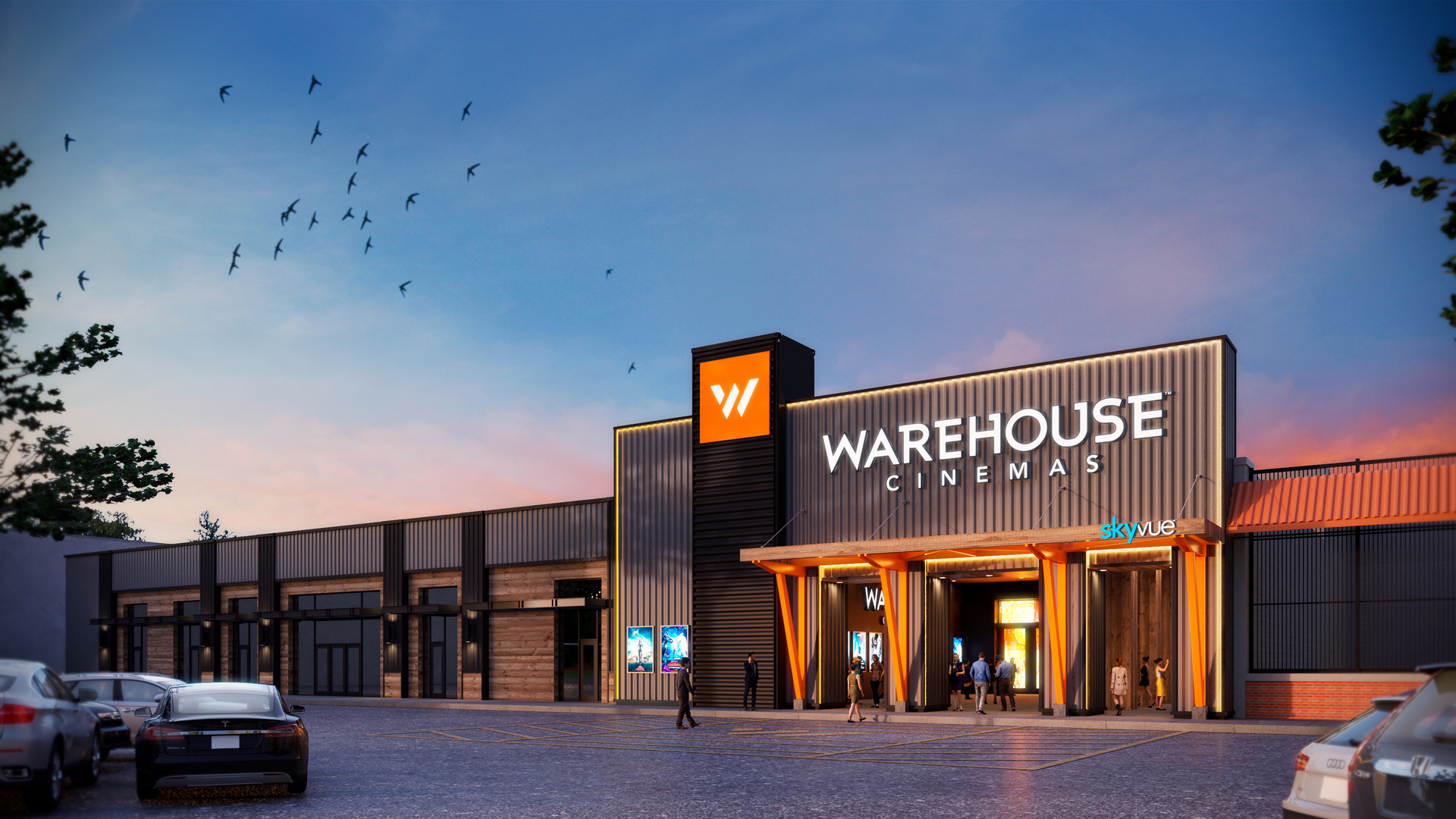 Warehouse Cinemas Frederick Rendering