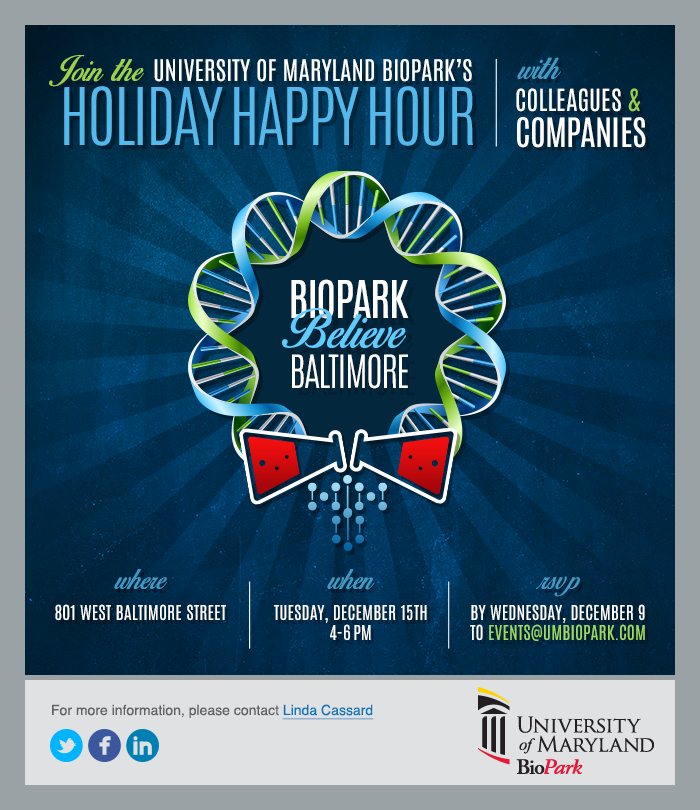 Holiday email example