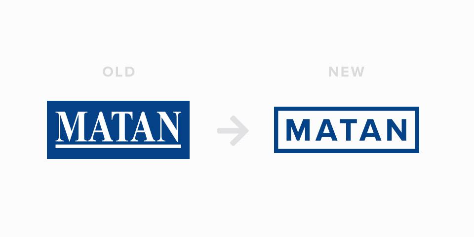Matan logo progression