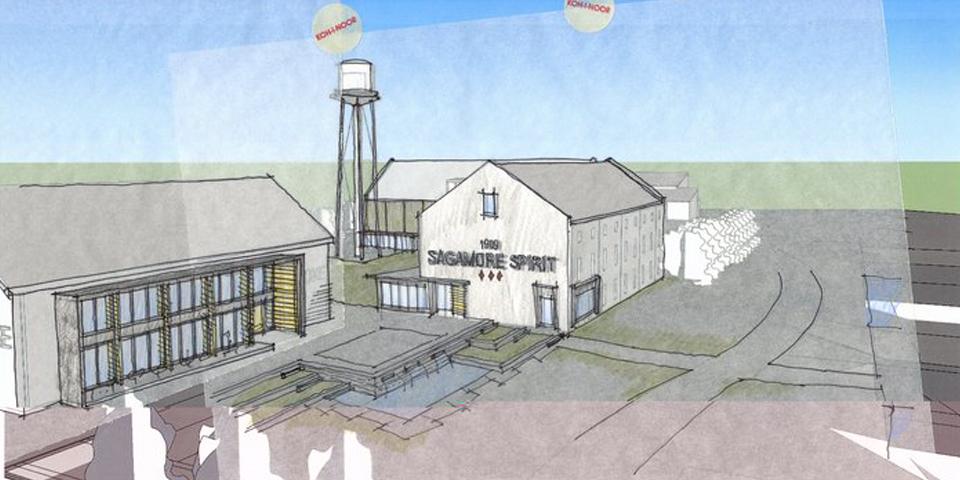Sagamore Distillery - Concept Image