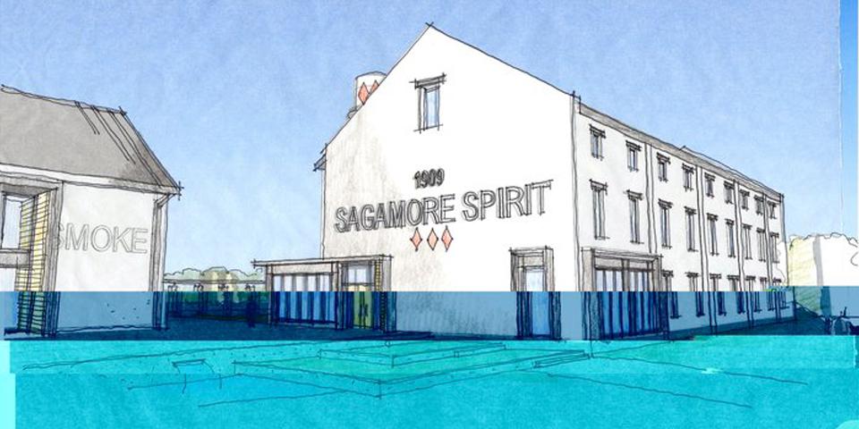 Sagamore Distillery - Concept Building