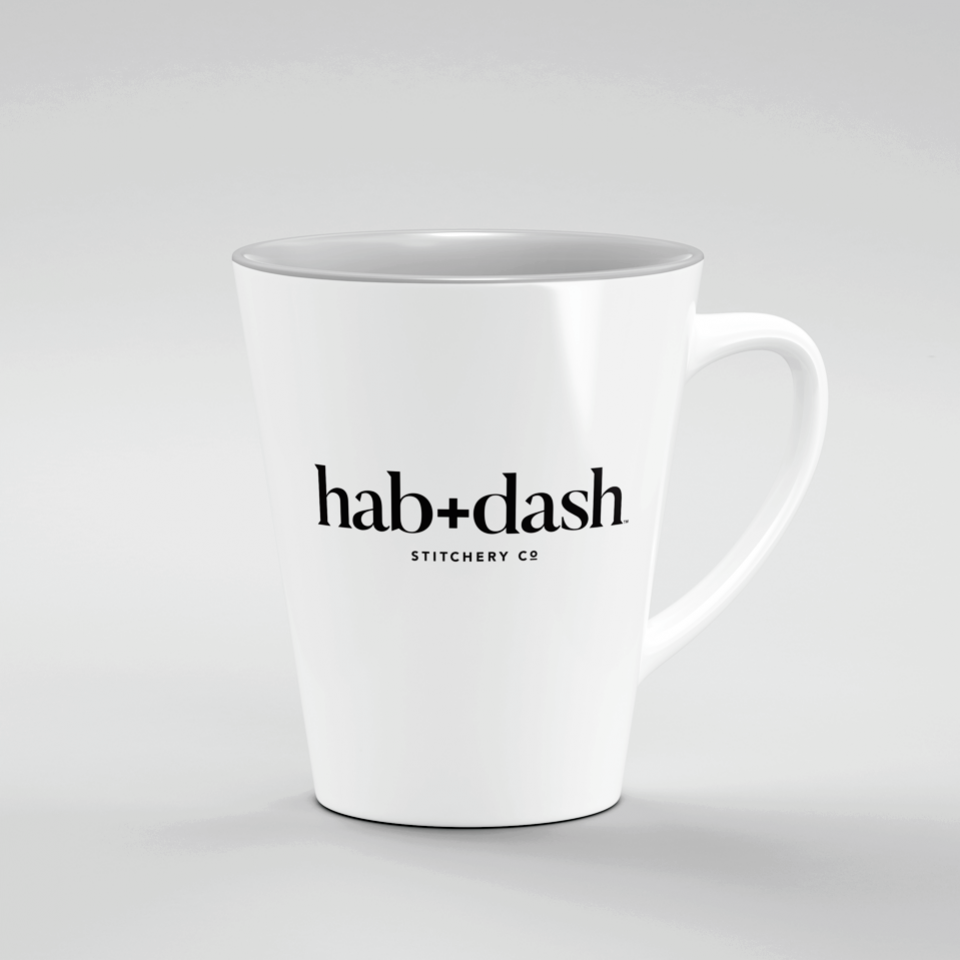 Product Concept - Mug with hab+dash logo