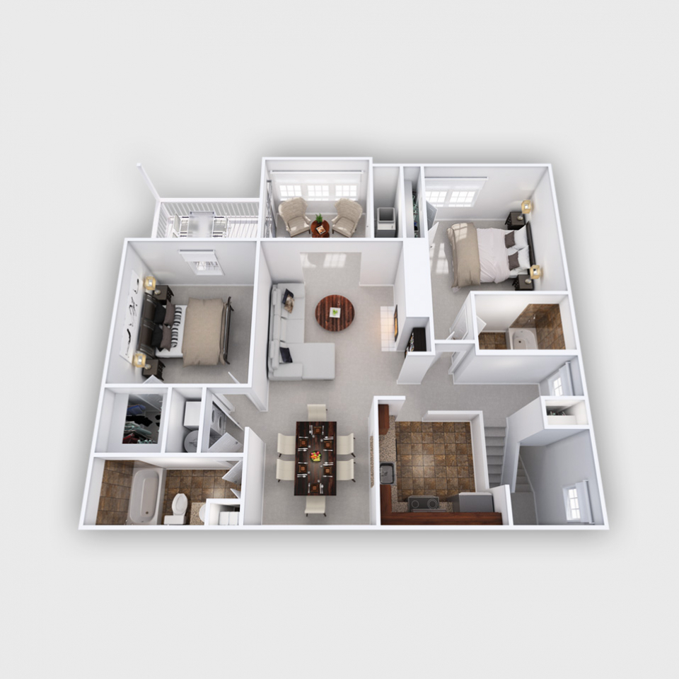 Bowling Brook floor plan