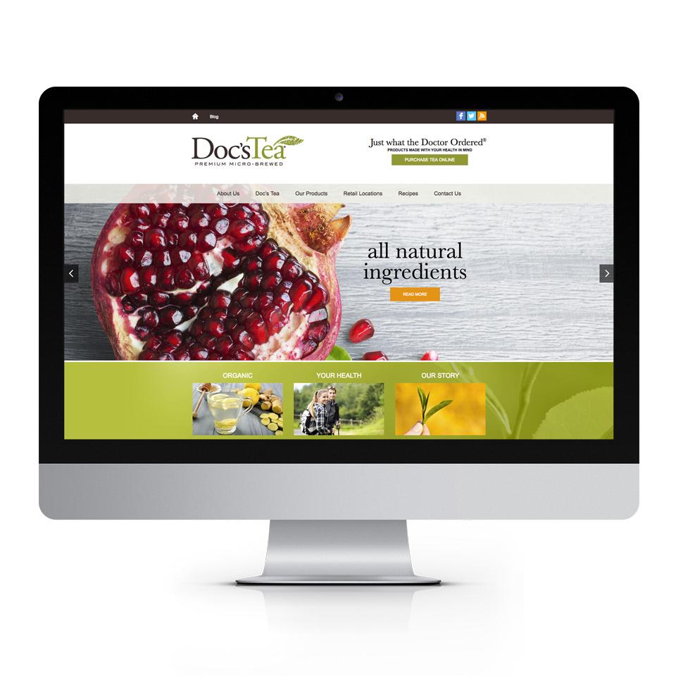 Doc's Tea Website