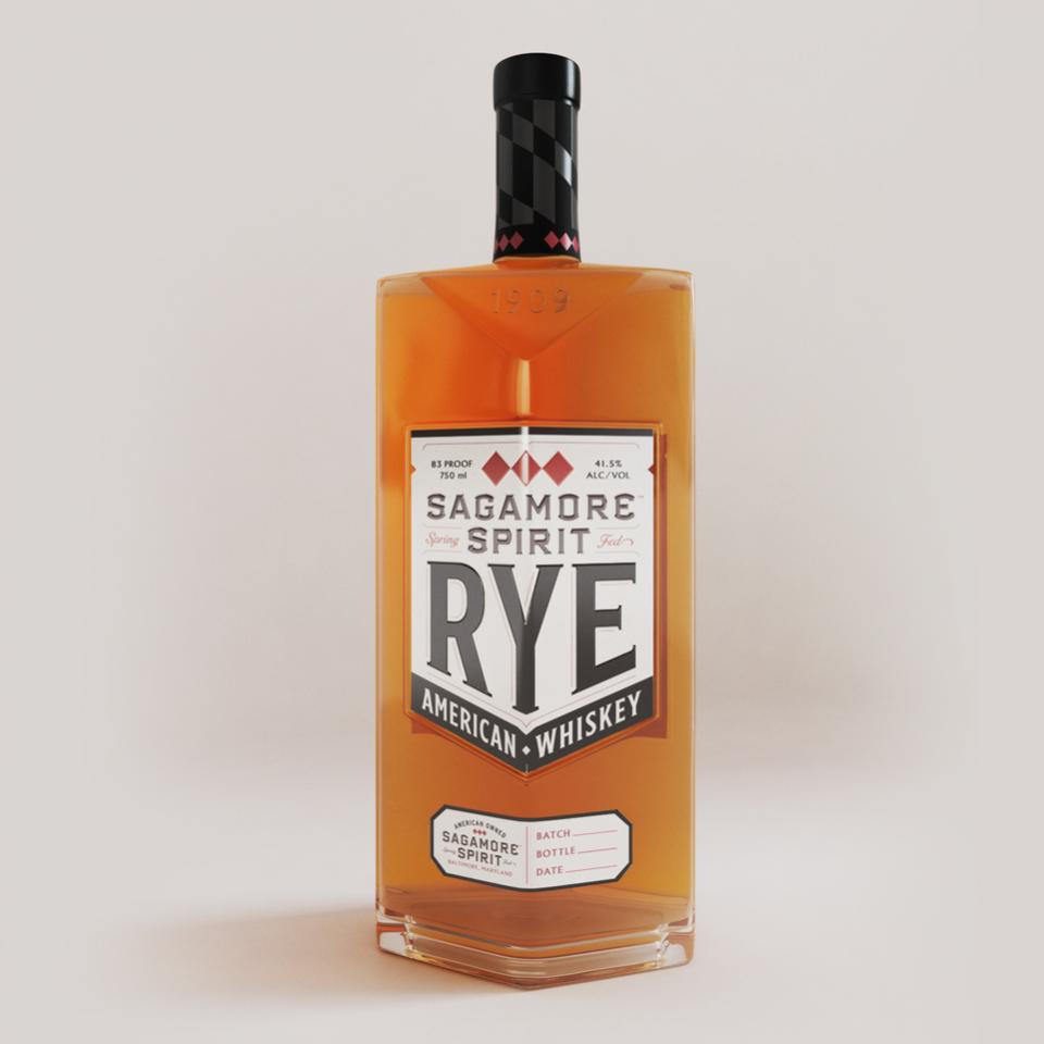Sagamore Spirit - Bottle Front Label