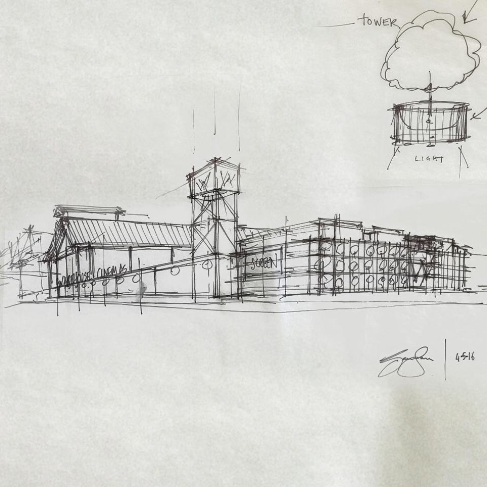 Warehouse Cinemas - Concept Art