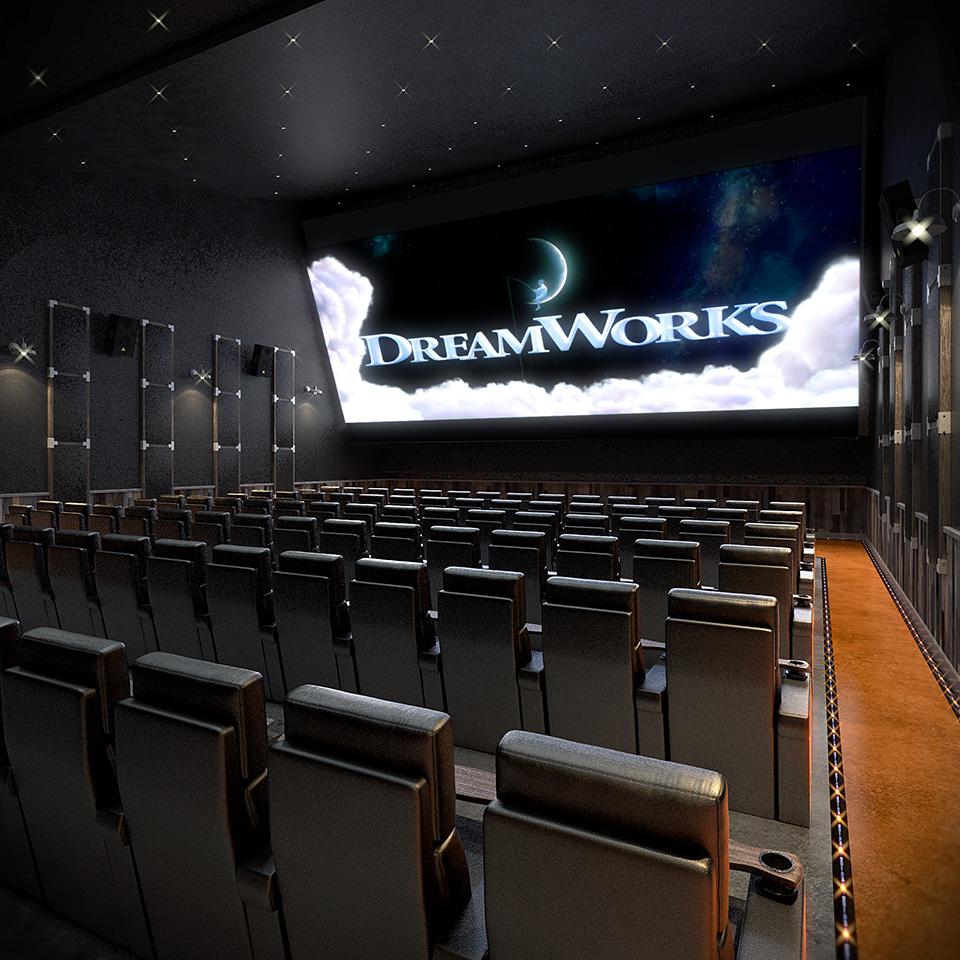 Warehouse Cinemas - Theater Rendering