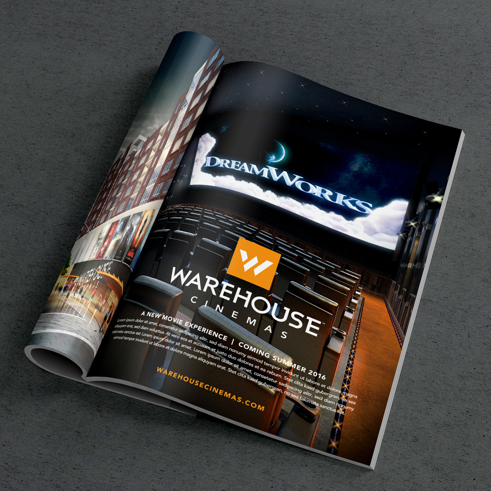 Warehouse Cinemas - Print Ad