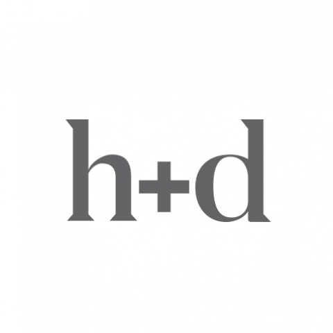 Logo Concept - h+d on white