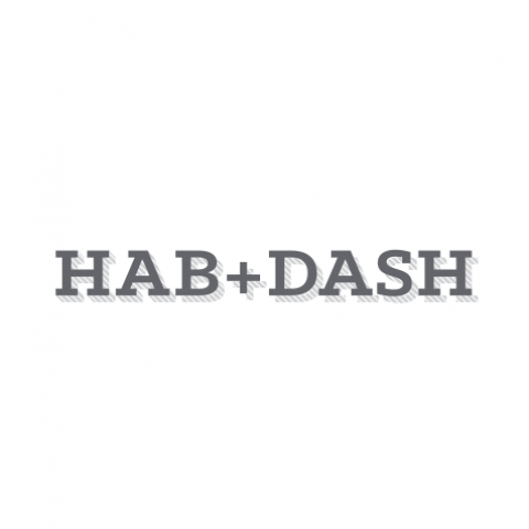 Logo Concept - Hab+Dash on white