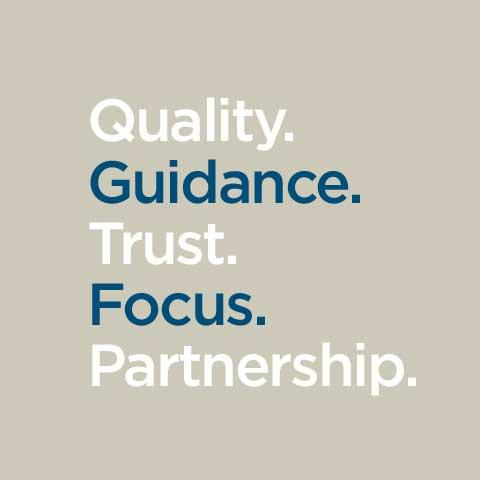 SEK Keywords and core values: Quality. Guidance. Trust. Focus. Partnership.