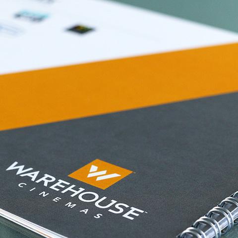 Warehouse Cinemas - Branding Booklet